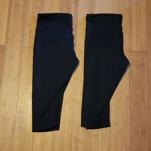 Two pairs of Champion Capris LARGE
